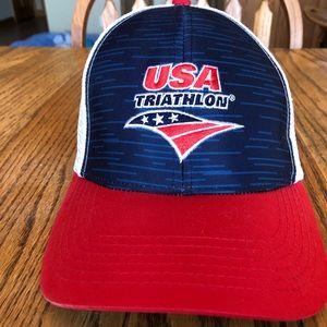 Other - USA Triathlon trucker hat
